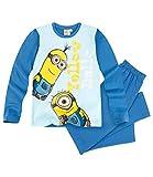 Minions Despicable Me Jungen Pyjama - blau - 140