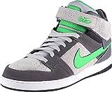 NIKE SB Zoom Mogan Mid 2 Skate Shoe - Men's (6, Dark Grey/Hyper Verde-Wolf Grey)