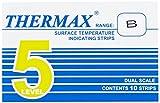 neoLab 3-1912 Temperatur-Messstreifen, 49 Grad C bis 71 Grad C (10-er Pack)