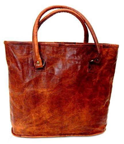 Handmade-Basket ,  Herren Tasche braun