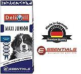 DELIMILL MAXI JUNIOR CANE 15 kg - Crocchette per cani - Made in Germany - Cibo secco, Mangime sano, Alimento completo per cani, Alta Qualità - Sacco da 15000 gr