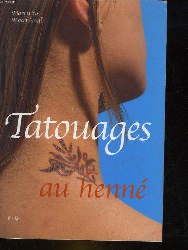 Tatouages au henné par Mariarita Macchiavelli