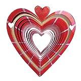 Geschenk Romantisch - Windspiel Herzen