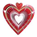 Geschenk fü den Valentinstag Romantisch - Windspiel Herzen