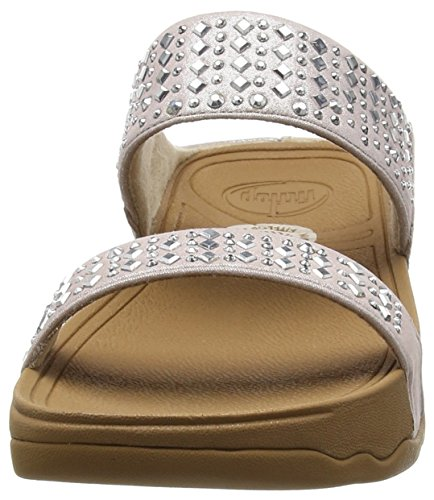 Fitflop Novy Slide Orange Flame Rose - Pink (Nude 137)