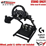 GT Omega Steering Wheel stand For Logitech G920 Racing wheel & shifter PRO