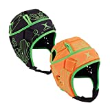 Gilbert Attack Blitz Rugby Casque de Protection, Orange, x-Large