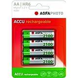 AgfaPhoto Batteries–batterie AA 2100mAh Lot de 4