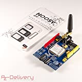 AZDelivery SIM 900 GPRS/GSM Shield für Arduino mit GRATIS eBook! 1x SIM900 Shield