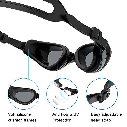 Zoom IMG-2 szdavsi occhialini da nuoto silicone