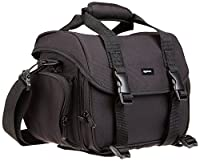 The AmazonBasics Large DSLR Gadget Bag is a must-have for carrying your DSLR camera, lenses, and other camera accessories. Storage for DSLR Camera, Personal Electronics, and Accessories (view larger).