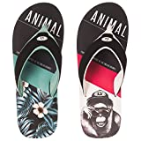 Animal Mens Foam Flip-Flops