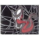 Venom Symbiote animé Noir Portefeuille