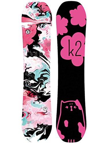 K2ragazza lil kat snowboard, bambina, 11b0060.1.1.100, multicolore, 100 cm