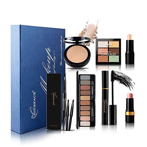 Moresave Seven in One Maquillage Maquillage des yeux ombre Shadow Maquillage haute réparation Ensemble Cadeau de beauté