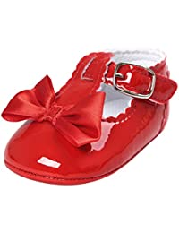Tefamore Zapatos Bebé Zapatillas de Deporte del Niño de la Princesa Suave Bowknot del Ocasionales