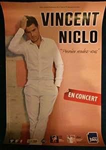 Vincent Niclo - Premier Rendez-Vous - 40X60 Cm Affiche / Poster