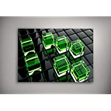 "Photo Art 10132, The Cube, Laminiert Poster Plakat Bilder Wandbild Kunstdruck Print Pop Art Wanddeko Fotografie mit Farbig Entwurf. Größe: 20"" x 30"" - 51 x 76 cm"