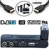 Decoder Digitale Terrestre DVB T2 / HD / Scart / HDMI / Ricevitore TV / PVR / H.264 HEVC / USB / DVB-T2 / DVB T / 4K / Per Digitale