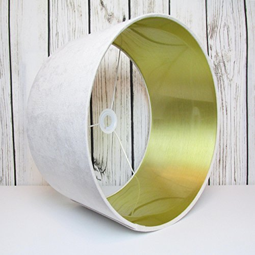handmade-lampshade-in-a-cream-sand-velvet-with-brushed-gold-interior