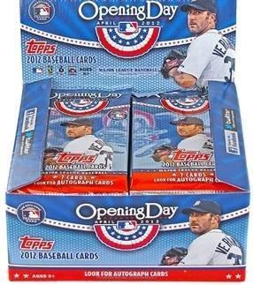 5pack: Viel 2012Topps Opening Day Baseball-Karten–FACTORY versiegelt (5–7Karten/-Pack) von - Baseball-karten Topps