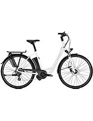 E-Bike Kalkhoff Voyager I8 Move 8G 11 Ah Wave 28' Freilauf white glossy 2018