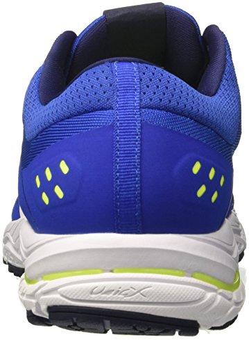 Mizuno Wave Stream, Chaussures de Running Homme Multicolore (Classicblue/white/safetyyellow 01)