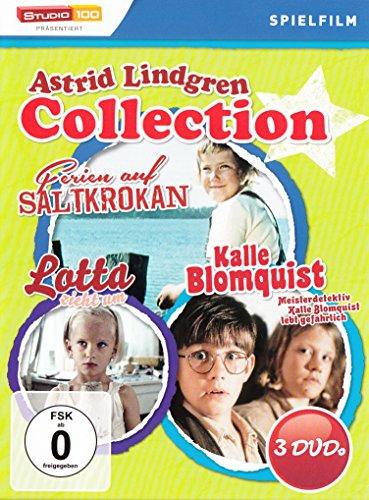 Astrid Lindgren : Ferien auf Saltkrokan - Kalle Blomquist lebt gefährlich - Lotta zieht um - 3DVD Box