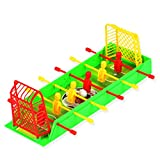 Isuper Table Top Football Game, Mini Foosball Table de Soccer Creative Cadeau Jouet pour Enfants