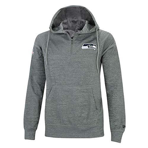 New Era NFL Jersey HZ Herren Sweater Seattle Seahawks Grau, Größe:L