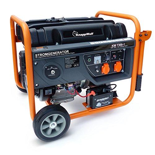 KnappWulf Stromerzeuger KW7300-1 Generator Notstromaggregat 1 phasig 230V