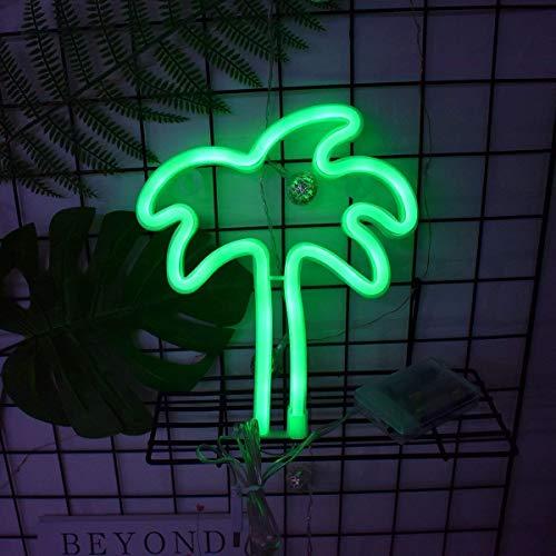 AIZESI Kokospalme Lampe NachtLicht Kokosnussbaum Outdoor Baum LED WeihnachtsDekoration für Mädchen Zimmer Wohnzimmer Weihnachten Party als Geschenk für Kinder(Kokospalmen)