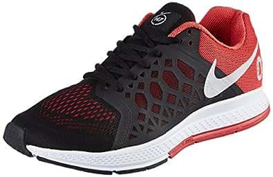 Nike Men S Zoom Pegasus N7 Black And Red Running Shoes 10