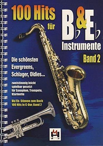 100 Hits für Bb- & Eb-Instrumente Band 2