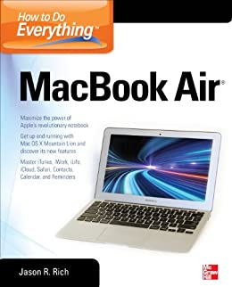 How to Do Everything MacBook Air by [Rich, Jason R.]