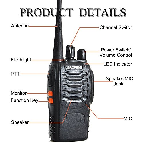 Zoom IMG-2 walkie talkie 16 canali 5