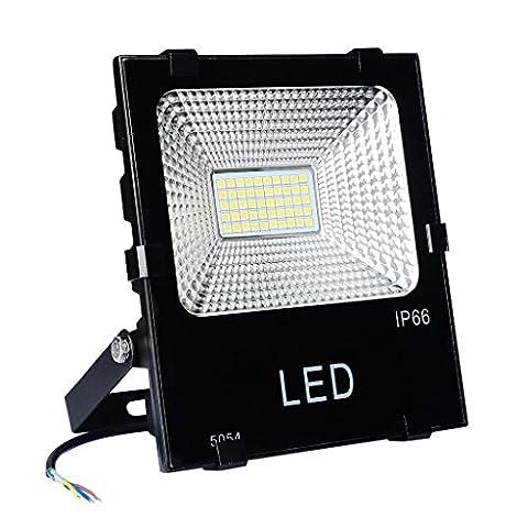 PryEU (50 Watts) Projecteur extérieur LED 20W 30W 50W, Lumières