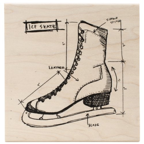 tim-holtz-red-rubber-stamp-ice-skate-sketch