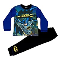 Jim Jams Direct Boys Batman Pyjamas PJS Ages 4 to 6 Years