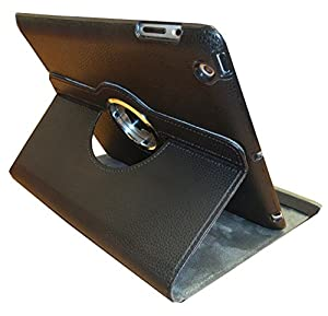 Hamster Faux Leather Folio Presenter Case Cover Bag with Stand Capability For Apple iPad Models