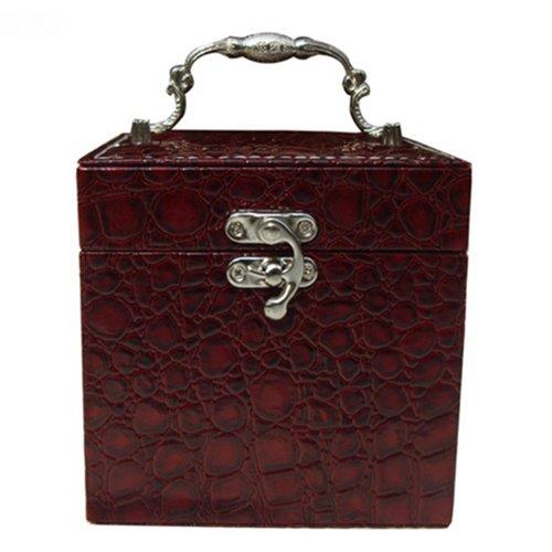 J Roland Beauty Case portagioie Box portagioie drachensilber Box portagioie