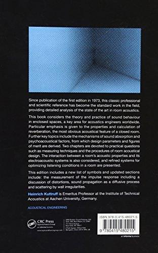 Room Acoustics, Fifth Edition