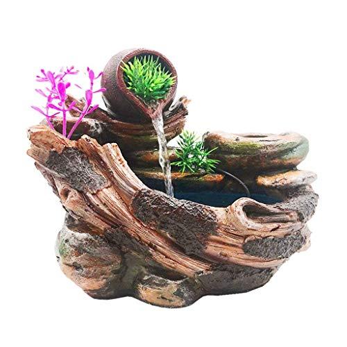 Xinxinchaoshi Tischplattenbrunnen-Innenwasserfall-Dekoration und Wasser-Pumpen-Innenbrunnen können Blumen und Pflanzen Pflanzen (Pflanzen Können)