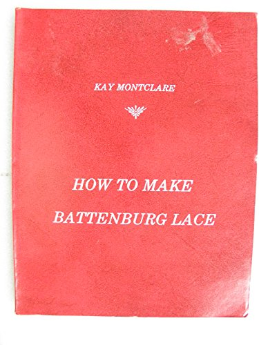 How to Make Battenburg Lace -