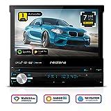 Autoradio NEOTONE NDX-150A | 1 DIN | Navigation mit Europakarten 2018 | DAB+ Unterstützung | DVD | 7 Zoll | 16GB inkl | WLAN | Bluetooth | OBD 2 | USB