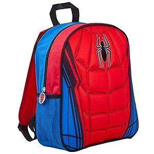 Marvel Spiderman Mochila 3D de Felpa, Spiderman (Rojo) – MNCK9081