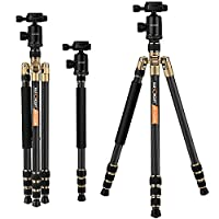 Carbon Fiber Tripod K&F Concept Advanced Camera Tripod 66