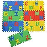 Archana Kid's EVA Puzzle Play Mat With English Alphabets