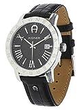 Aigner Herren Uhr Armbanduhr Linate schwarz A32168