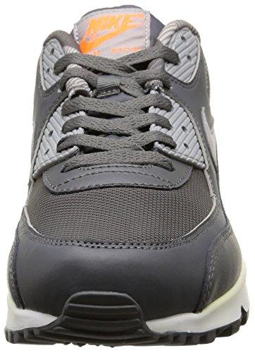 Nike Air Max 90 Print, Scarpe sportive, Uomo Drk Gry/Wlf Gry-White-Ttl Orng
